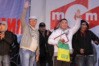 Представители монгольской делегации на БМШ-2012