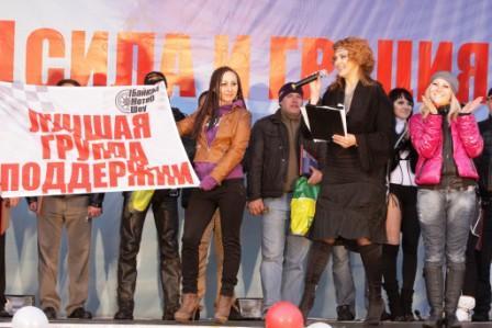 Девушка из группы поддержки ГАЗ-21 Юрия Юдина