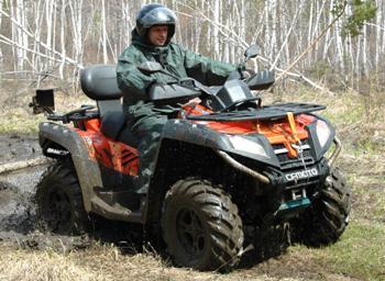 Квадроциклы в Иркутске