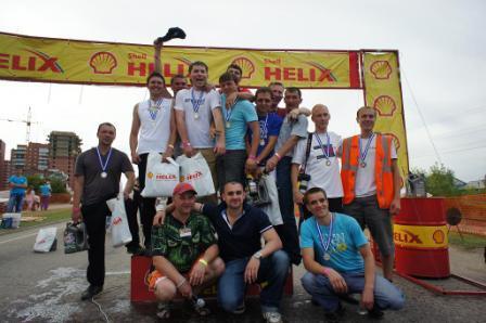 Дрэг-рейсинг в Иркутске