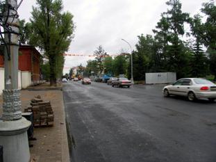 Улица Карла Маркса в Иркутске