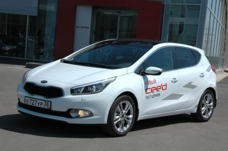 Kia cee'd 2012 в Иркутске