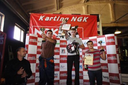 NGK картинг в Иркутске