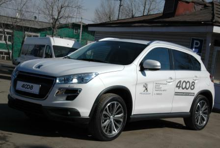 Peugeot 4008 в Иркутске
