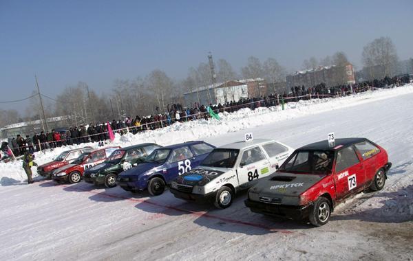 Трековые гонки в Шелехове 2012
