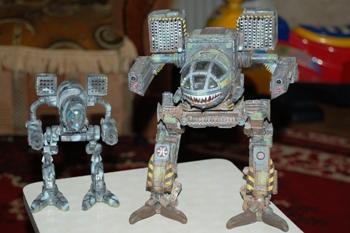 Роботы А. Найдина