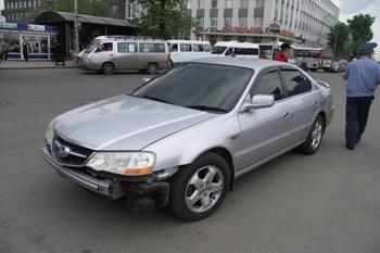 Проверка тонировки стекол автомобиля