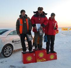 Ледовые гонки 2012 в Иркутске