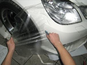 Антигравийная пленка на автомобиль