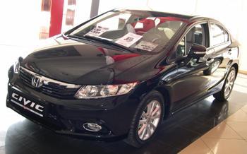 Honda Civic 4D 2012 в Иркутске