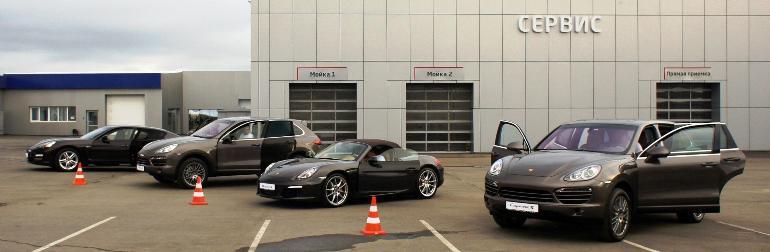 Porsche в Иркутске
